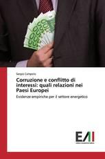 Corruzione e conflitto di interessi: quali relazioni nei Paesi Europei