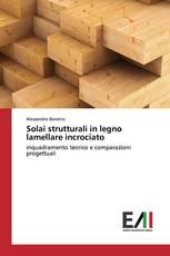 Solai strutturali in legno lamellare incrociato
