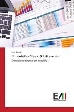 Il modello Black & Litterman