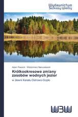 Krótkookresowe zmiany zasobów wodnych jezior