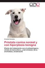 Próstata canina normal y con hiperplasia benigna
