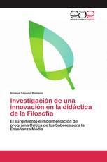 Investigación de una innovación en la didáctica de la Filosofía