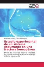 Estudio experimental de un sistema espumante en una fractura homogénea