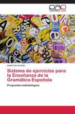 Sistema de ejercicios para la Enseñanza de la Gramática Española