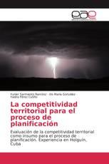 La competitividad territorial para el proceso de planificación
