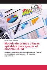 Modelo de primas o tasas apilables para ajustar el modelo CAPM