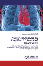 Numerical Analysis on Simplified 2D Model of Heart Valve