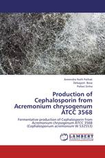 Production of Cephalosporin from Acremonium chrysogenum ATCC 3568