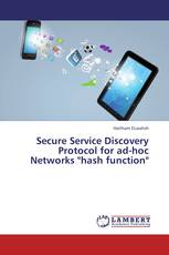 "Secure Service Discovery Protocol for ad-hoc Networks ""hash function"""