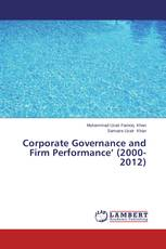 Corporate Governance and Firm Performance' (2000-2012)