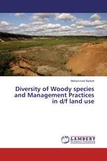 Diversity of Woody species and Management Practices in d/f land use