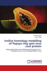 Insilico homology modelling of Papaya ring spot virus coat protein