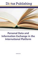 Personal Data and Information Exchange in the International Platform