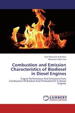 Combustion and Emission Characteristics of Biodiesel in Diesel Engines