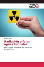 Radiación alfa en aguas termales