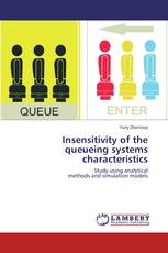 Insensitivity of the queueing systems characteristics