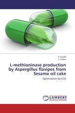 L-methioninase production by Aspergillus flavipes from Sesame oil cake