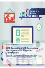 MIS Capacity and Information Management in Nigerian Universities