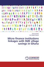 Micro finance institutions linkages with SME village savings in Ghana