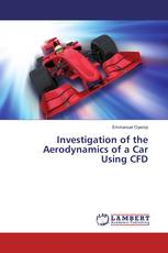 Investigation of the Aerodynamics of a Car Using CFD