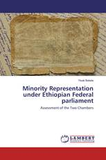 Minority Representation under Ethiopian Federal parliament