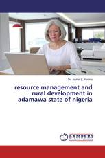 Resource management and rural development in adamawa state of Nigeria