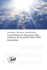 Le portfolio en éducation des sciences de la santé selon l'APC