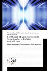 Synthèses et Caractérisations Structurales d'Iodates Métalliques