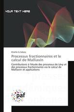 Processus fractionnaires et le calcul de Malliavin