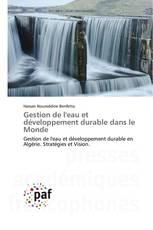 Gestion de l'eau et développement durable dans le Monde