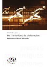 De l'initiation à la philosophie