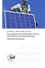 Conception et réalisation d'une installation photovoltaïque