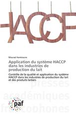 Application du système HACCP dans les industries de production du lait