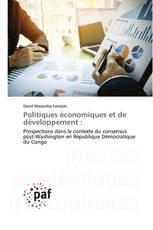 Politiques économiques et de développement :
