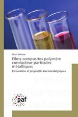 Films composites polymère conducteur-particules métalliques