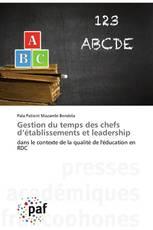 Gestion du temps des chefs d'établissements et leadership