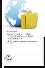 Recrutement, accueil et intégration des étudiants internationaux