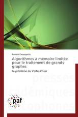 Algorithmes à mémoire limitée pour le traitement de grands graphes