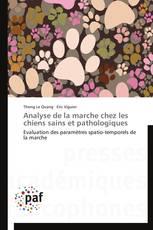 Analyse de la marche chez les chiens sains et pathologiques