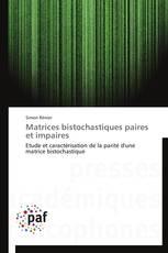 Matrices bistochastiques paires et impaires