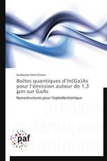 Boîtes quantiques d'In(Ga)As pour l'émission autour de 1,3 μm sur GaAs
