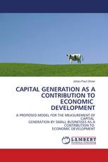 CAPITAL GENERATION AS A CONTRIBUTION TO ECONOMIC DEVELOPMENT