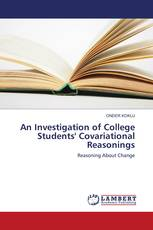 An Investigation of College Students' Covariational Reasonings