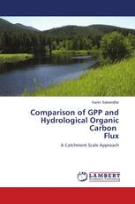 Comparison of GPP and Hydrological Organic Carbon Flux