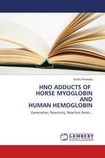 HNO ADDUCTS OF HORSE MYOGLOBIN AND HUMAN HEMOGLOBIN