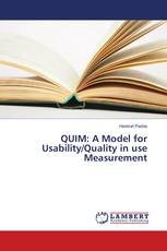 QUIM: A Model for Usability/Quality in use Measurement