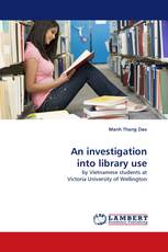 An investigation into library use