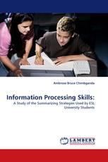 Information Processing Skills: