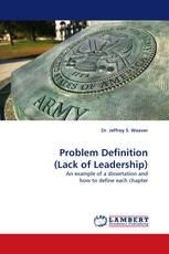 Problem Definition (Lack of Leadership)