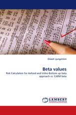 Beta values